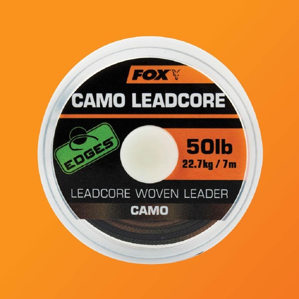 Fox Edges Camotex Soft Camo 20lb 25lb 35lb Carp Fishing Hooklength