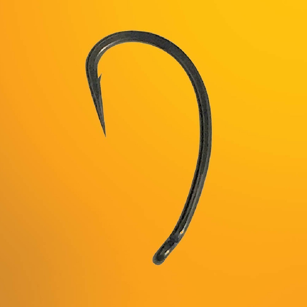 OUT-TURNED EYE STRAIGHT EYE CURVE SHANK THINKING ANGLERS HOOKS CURVE POINT