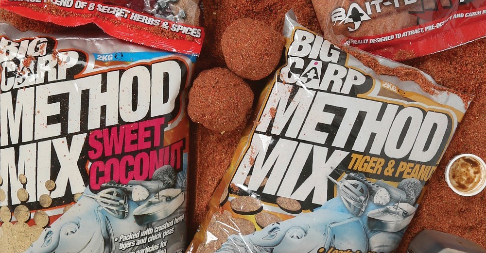Bait-Tech Big Carp Method Mix Tiger /& Peanut 2kg Carp Fishing Groundbait