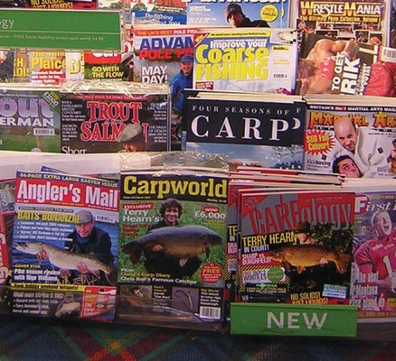 Back in 2005 there was an abundance of magazines lining the shelves