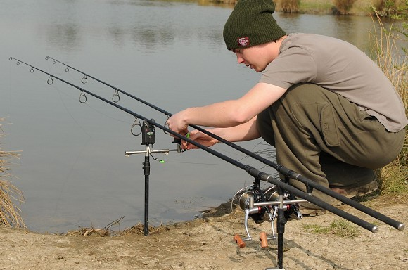 Matrix Innovations Rock Solid Bankstick Stainless Steel Carp Fishing Bank Stick