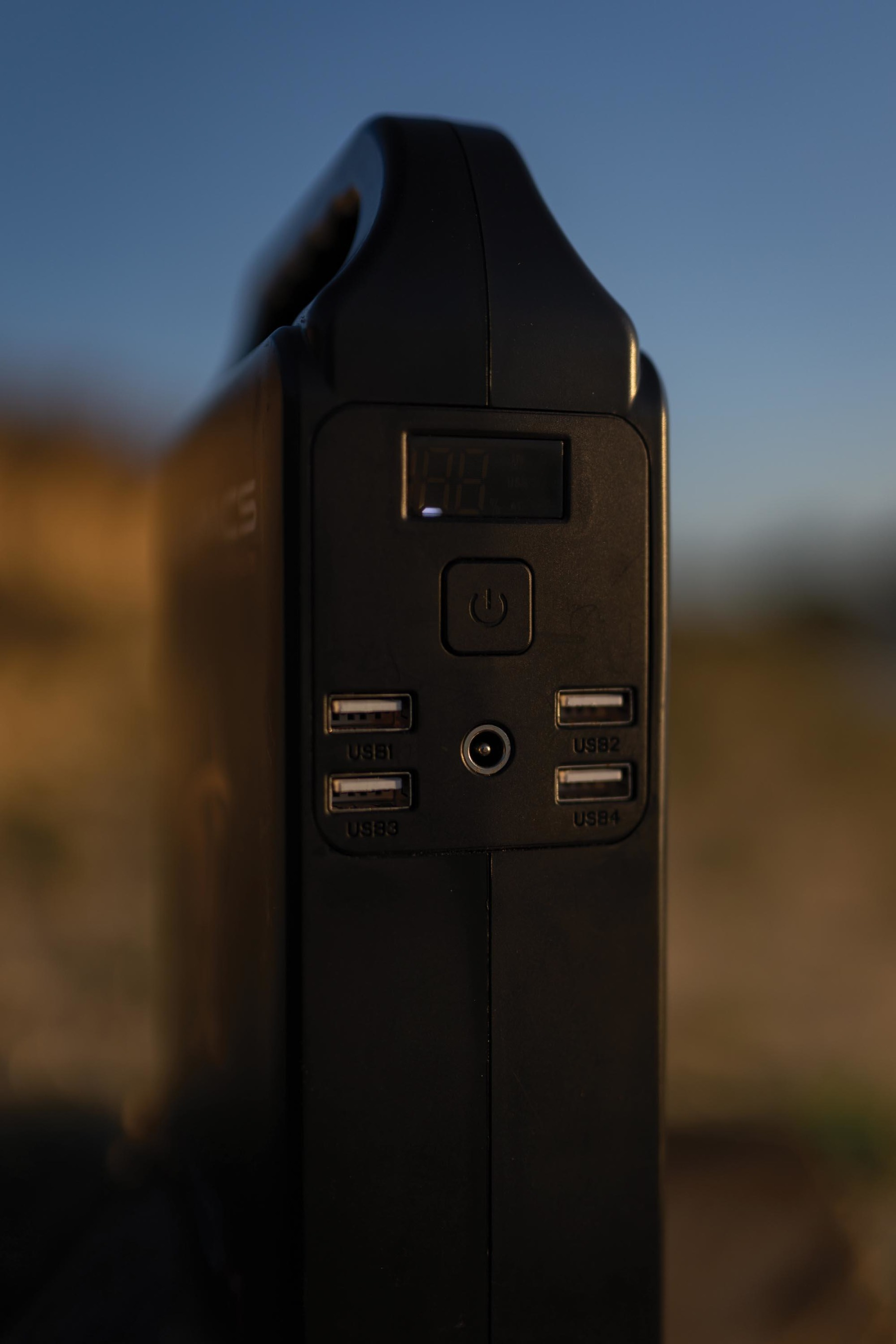 One of the unique features on the Atom is the standard plug socket