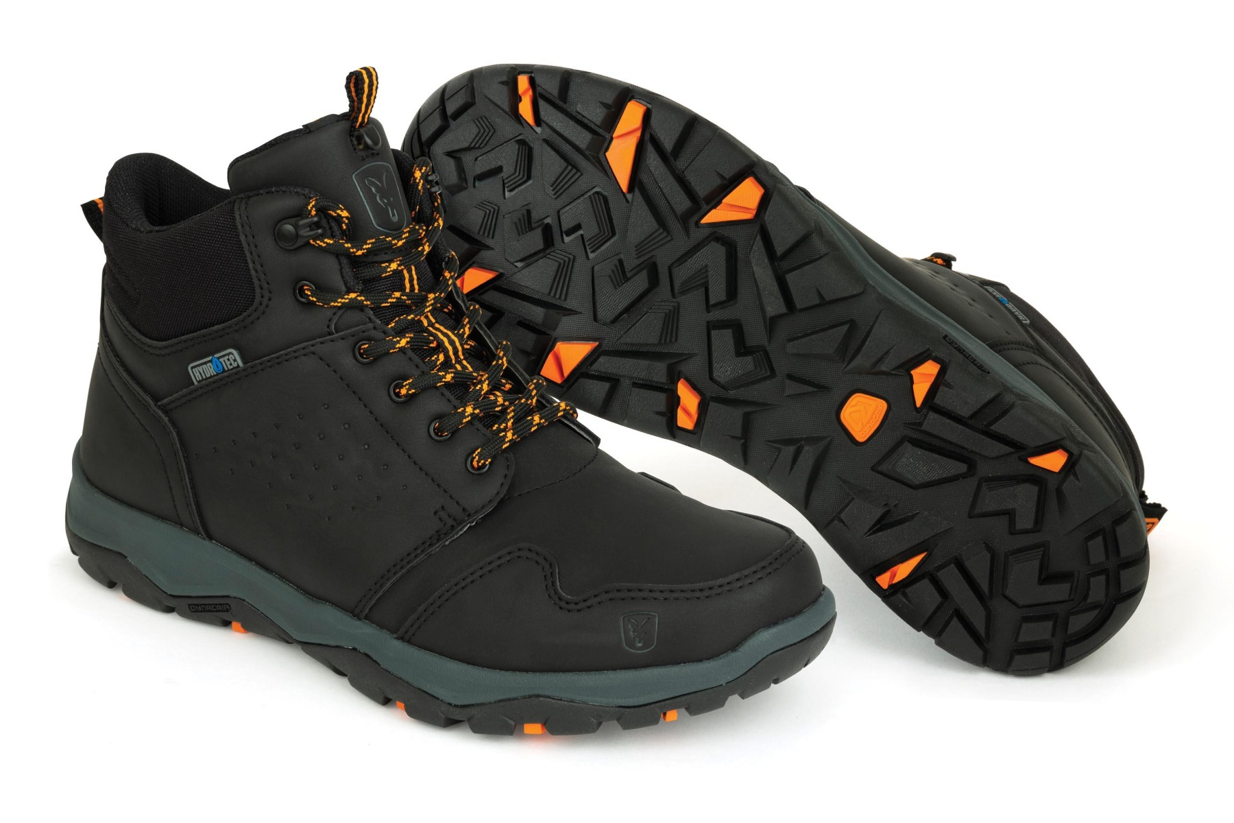 Fox Collection Black & Orange Mid Boots