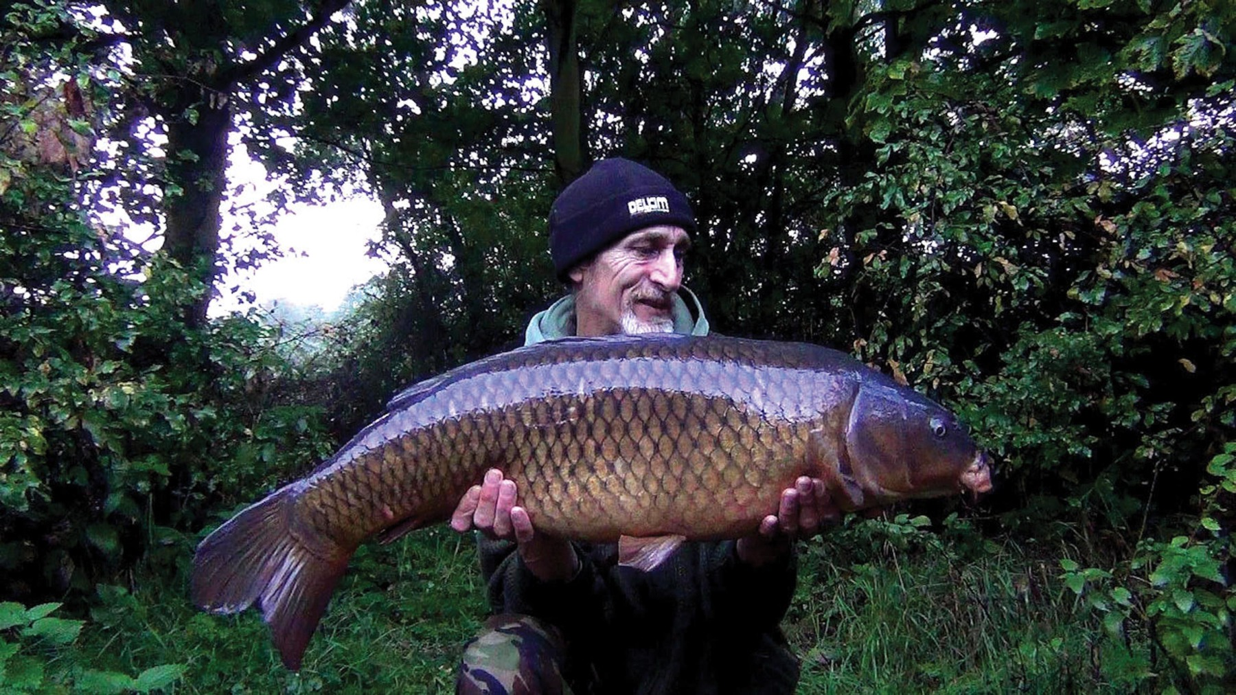 Success: a lovely clean 26lb common