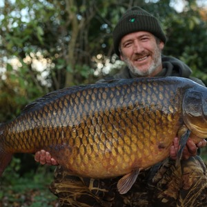 Thinking carefully and adapting his approach lead to the capture of this 45lb common