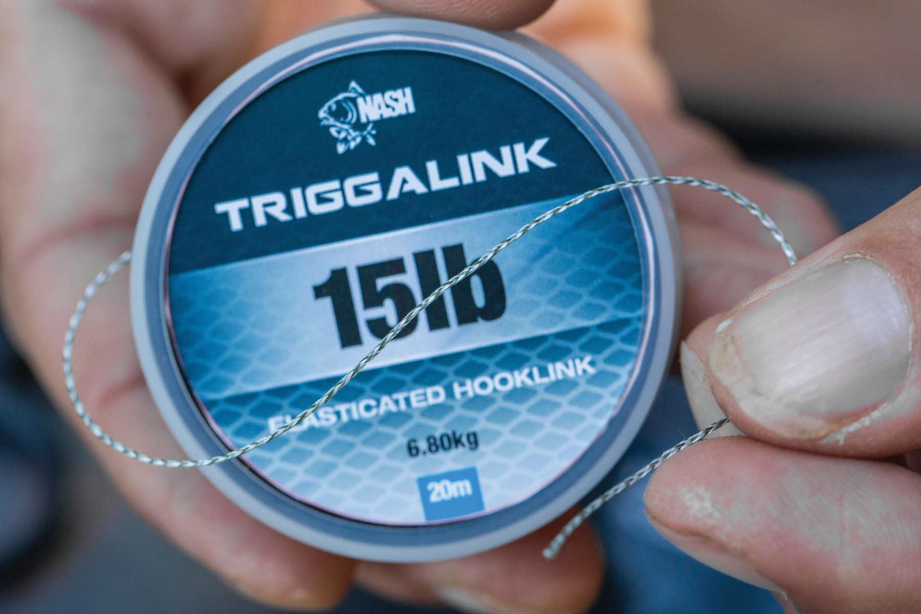 Onto the Triggalink… Start by cutting off a 10in length.