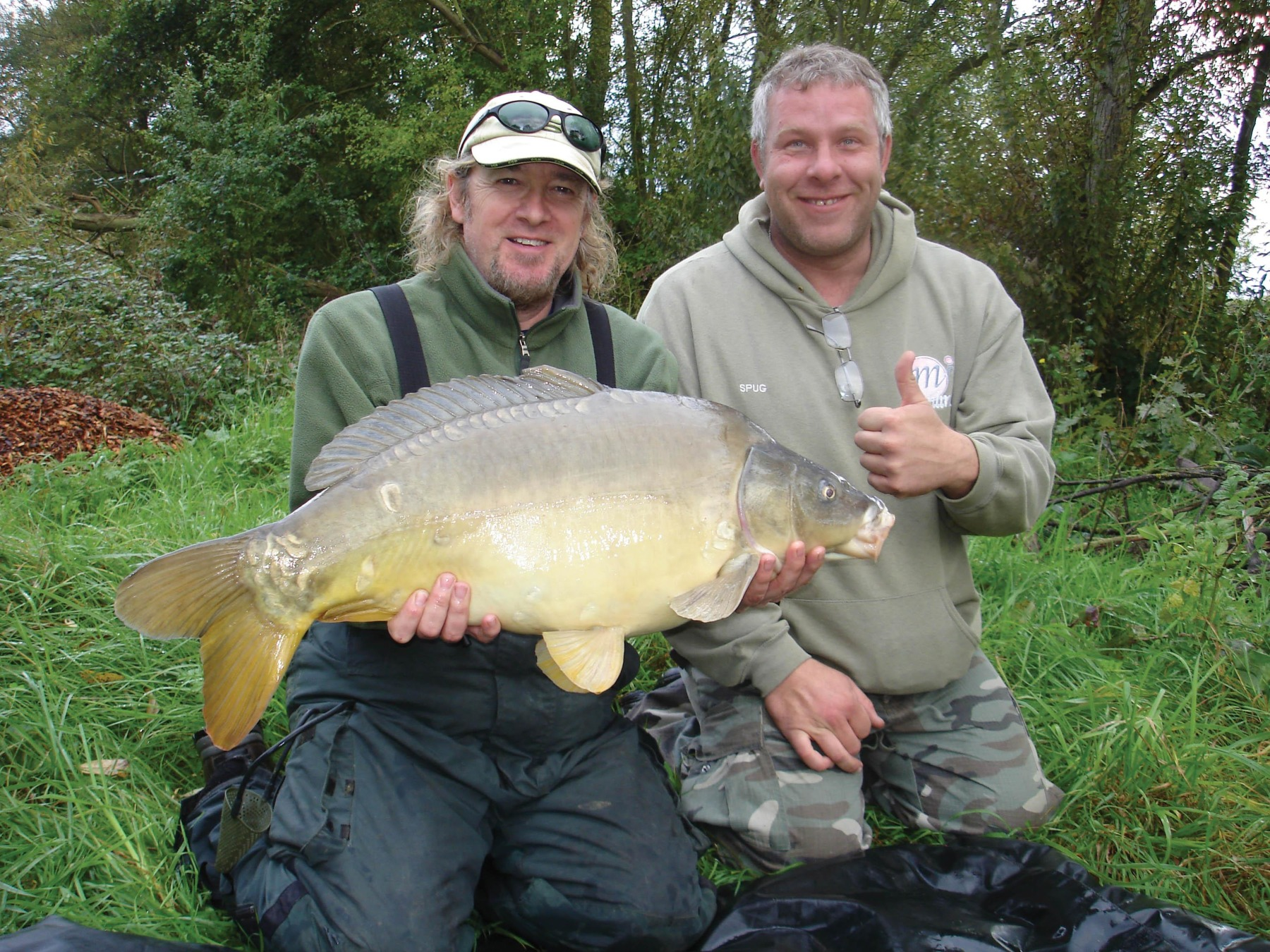 Carp, tench, sturgeon… Adrian fishes for them all!