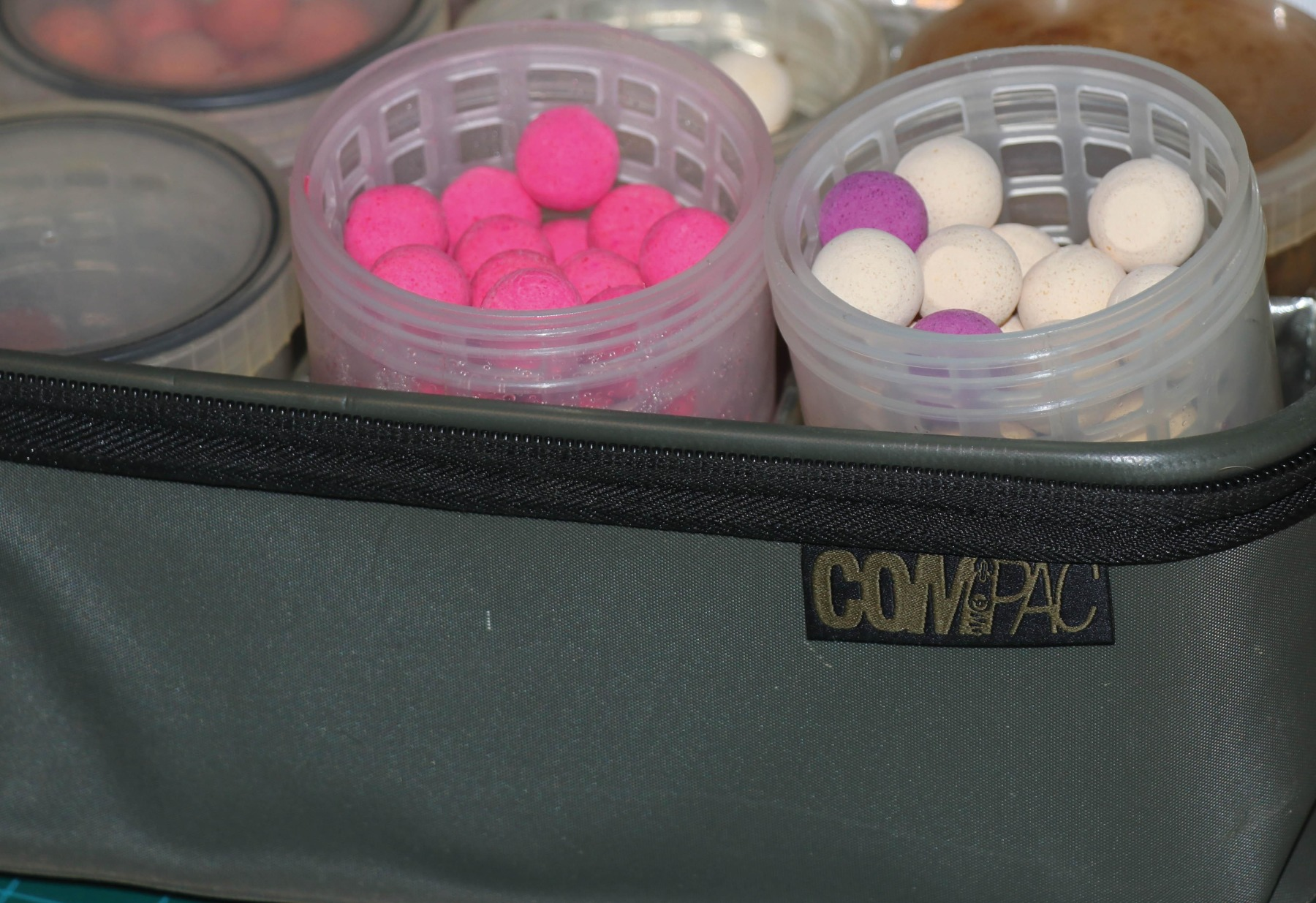 The Korda Compac is perfect for my collection of pimped hookbaits
