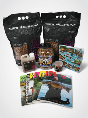 CARPology 'Sticky Baits Mega 10k + Mainline Nutty Particle' Deal