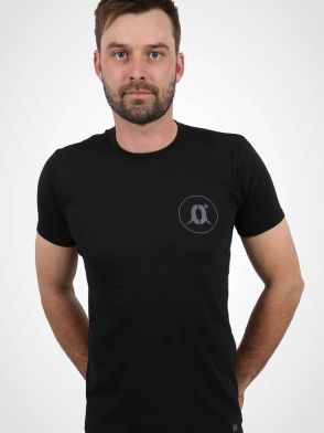 CARPology Black Small O Logo T-Shirt