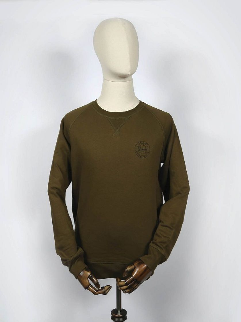 Be Adventurous Khaki Sweatshirt