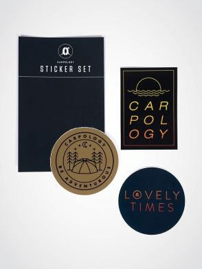 CARPology Be Adventurous Small Sticker Pack