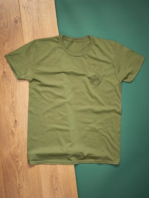 Be Adventurous Olive T-Shirt