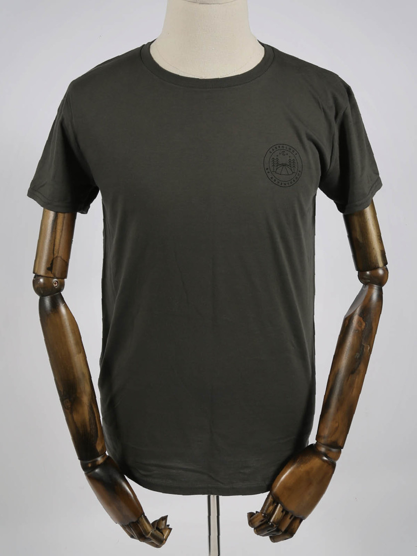 Be Adventurous Tungsten T-Shirt